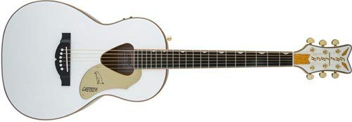 Gretsch Guitars G5021WPE Rancher Penguin Parlor Acoustic/Electric White by Gretsch Guitars
