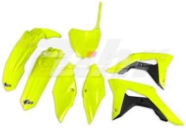 UFO - 94274/54 : Kit plastica completo Honda fluor HOKIT119-DFLU HONDA CRF R 250: 2018-2018 - HONDA CRF R 450: 2017-2018 -