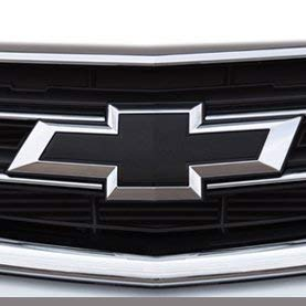 GM # 23287538 Front Grille and Decklid Bowtie Emblems in Chrome with Black Insert, 2015-2016 Chevrolet Impala, GENUINE GM ACCESSORIES