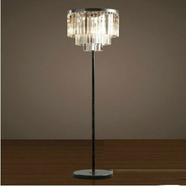 CU@EY American Village 1-Kristall Lampen, H170cm