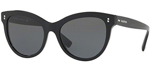 Valentino Women's VA 4013 Black/Grey Sunglasses