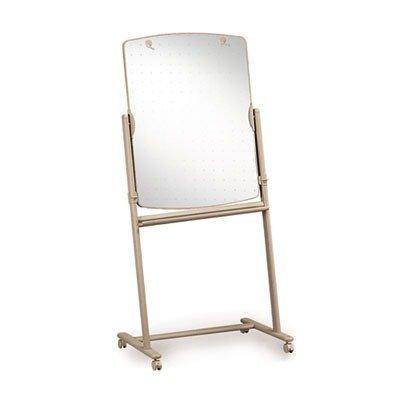 Quartet : Reversible Mobile Presentation Easel, Dry-Erase, 30 x 41, Neutral Frame -:- Sold as 2 Packs of - 1 - / - Total of 2 Each ()