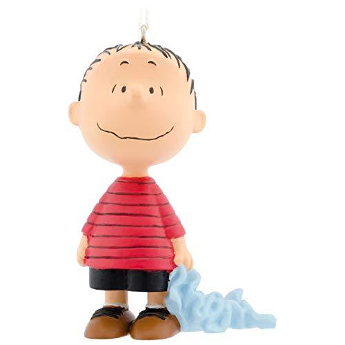 (Hallmark Christmas Ornament Peanuts Linus with Blue)