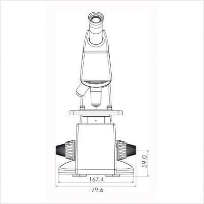 Labomed 2124002 Sigma 100x Microscope