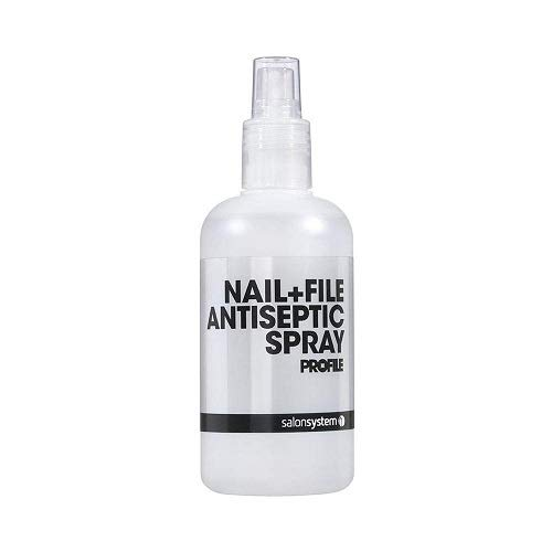 - Salon System Profile Nail File Antiseptic Spray 250ml