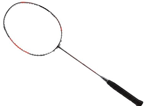 YONEX DUORA 77/ G5 (81mm) grip size / 3U (Ave. 88g) weight / Badminton Racket / All round model / DUAL OPTIMUM SYSTEM / boost power on forehand / boost distance onbackhand / balck red color