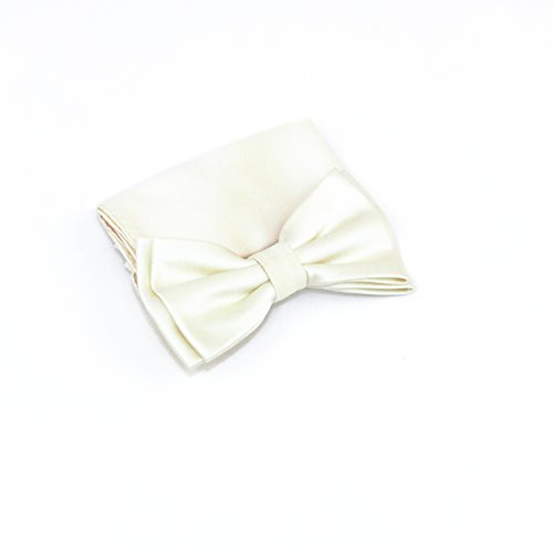 100% Silk Satin Solid Color Bow Tie - Priority Day 2 Rates Mail