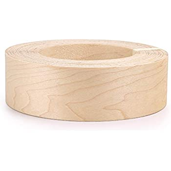 Maple Veneer Roll : skelang maple 2 x 50 39 roll wood veneer edge banding preglued iron on with hot melt adhesive ~ Vivirlamusica.com Haus und Dekorationen