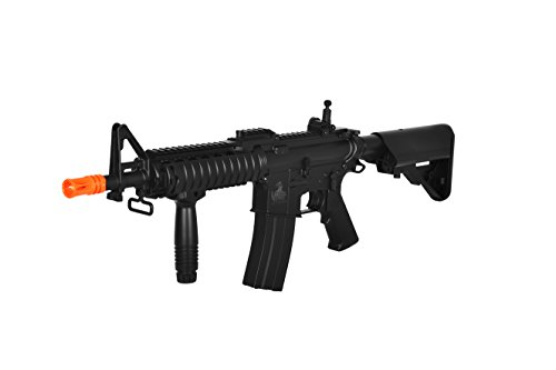 Lancer Tactical M4 CQBR AEG Metal Gears CM16 Raider w/ BATTERY & CHARGER Aeg Metal Gearbox