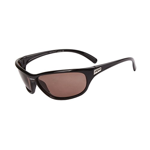 44c72604b417 Sunglasses New Polarized Sport Shades Wraps XSportz UV400 Men Women Black  PZ55B