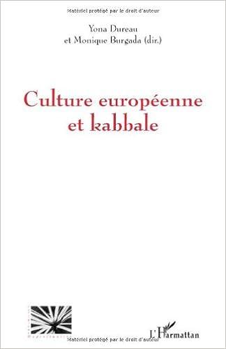 Livres Culture européenne et kabbale pdf