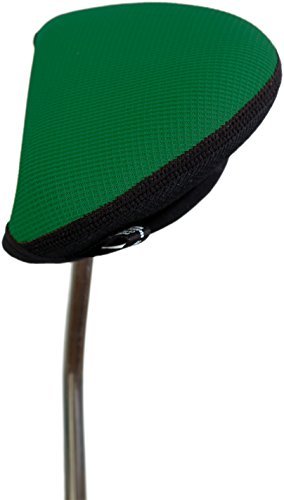 Stealth Club Covers 12030 Putter Oversize Mallet 2-Ball Golf Club Head Cover, Forest/Black