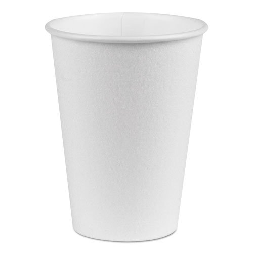 Dixie 5342W PerfecTouch Hot/Cold Cups, 12 oz., White, 50/Bag, 20 Bags/Carton