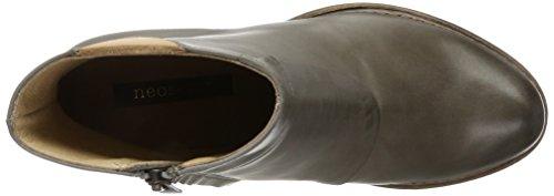 Neosens Donne S843 Restaurato Vetiver Pelle / Rococò Breve Stivali Albero Grigio (vetiver)