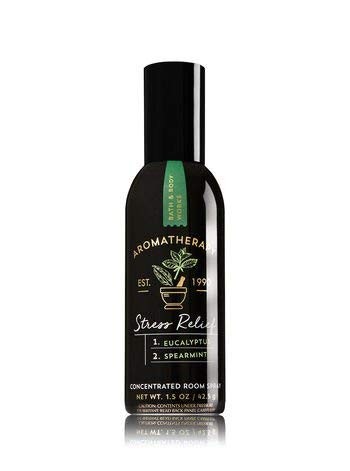 Bath and Body Works Aromatherapy Stress Relief Eucalyptus Spearmint Concentrated Room Spray ()