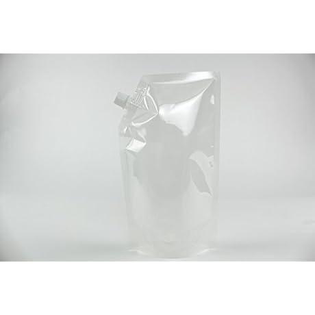 500 5 5 X 9 0 X 3 0 OD Transparent Spout Bags