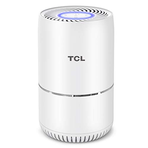 TCL KJ65F-A2 Home Purifier with True HEPA Filter 3 in1, Home Purifier for Fresh Smoke, Wildfire Ashes, Pet Dander, Dust, CADR 65 m³/h Quite Operation (Available for - Cadr Air