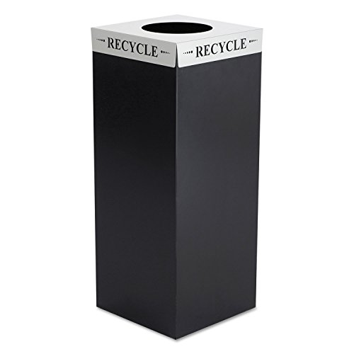 - Square-Fecta Lid, Recycle, Silver [ESS]