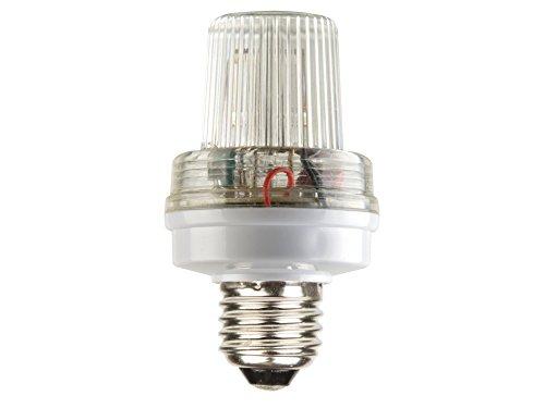 VS Electronic 640107 Mini-Strobo-Blitzer, 3.5 W, E27/230 V, Weiß VS Electronic Vertriebs GmbH VDLSLW 85351-579769
