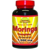 Moringa Complete, 1500 mg, 60 Cap (Pack of 3) by DYNAMIC HEALTH LABORATORIES INC