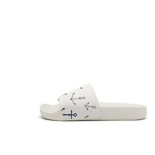 Sandals Anchors Slipper Comfort Open Bath Womens Outdoor Anchors Slides Toe Guxefi Uaq4wa