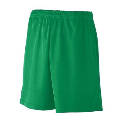 Augusta Sportswear Youth Unisex Mini Mesh League Short X-Small Kelly Green