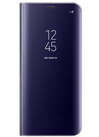 BCIT Samsung Galaxy S9 Plus Funda -Modelo Inteligente Fecha/Hora Ver Espejo Brillante tirón del Caso Duro con para el...