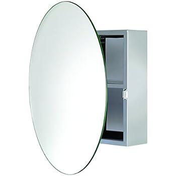 Amazon Com Zenith Mmv1032 21 Quot X 32 Quot Oval Medicine Cabinet Home Amp Kitchen