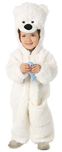 (Princess Paradise Baby Hudson The Polar Bear, White, 12 to 18 Months)