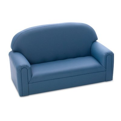 Brand New World Toddler  Enviro-Child Upholstery Sofa  - Blue by Brand New World Furniture