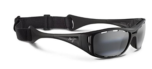Maui Jim Unisex Waterman Matte Black/Neutral Grey - Jim Waterman