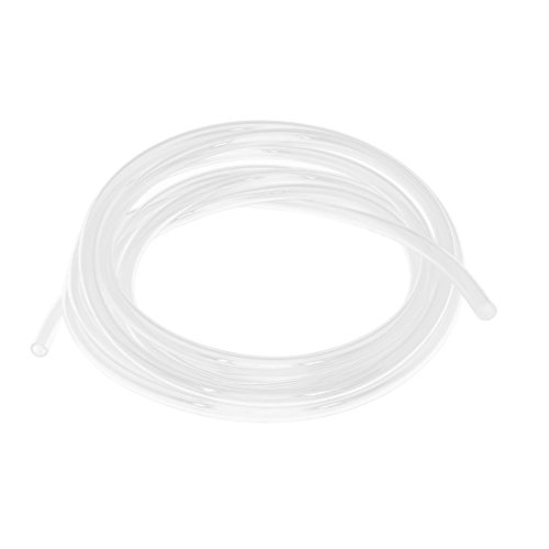 Price comparison product image uxcell Fish Tank Air Line Tubing Pipe Tube 10mm Outside Dia 4m Length Clear