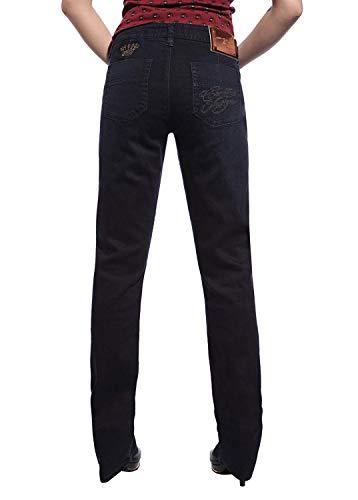 Jeans Slim Jeans Outdoor Dritti Fit Casual Slim Anni Elasticizzati Pantaloni Schwarz Con Multitasche 20 Vestibilità YdZqtt