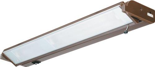 Lithonia UCHD3120CSWBZR6 - 18 Inch 3 Light 60w Halogen 120 Volt Under Cabinet Light in Bronze