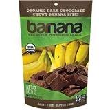 Barnana - Organic Chocolate Chewy Banana Bites (12-3.5 oz bags) - Shelf life of 18 months