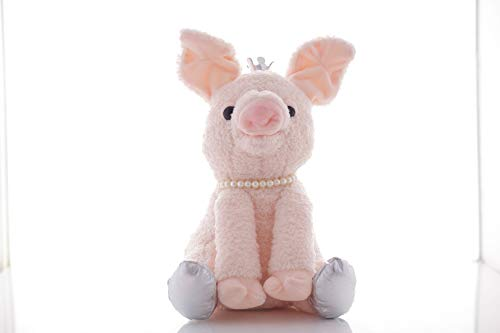 (Snoring and Wagging The Tail Pig Baby Animated Flappy The Pig Plush Toy 11.5