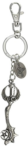 Keychain Heart Pewter - Disney Kingdom Hearts Star Seeker Blade Pewter Key Ring