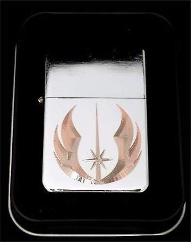 Favors Zippo (JEDI Order Star Wars Jedi Engraved Chrome Cigarette Favor Lighter Gift LEN-0014)