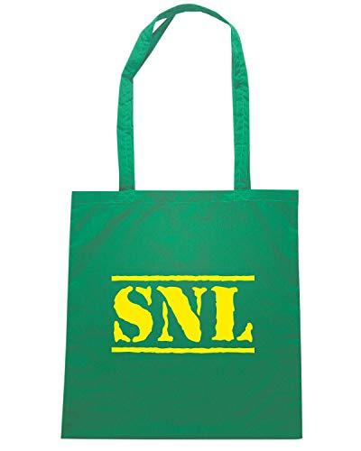 Speed Shirt Borsa Shopper Verde OLDENG00855 SNL