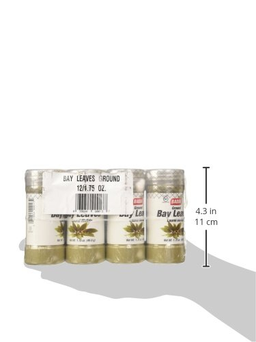 Badia Bay Leaves Ground, 1.75 Ounce (Pack of 12) by Badia (Image #2)