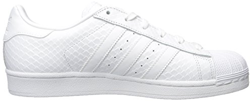 Adidas Womens Superstar S76148 Leather Trainers Weiß
