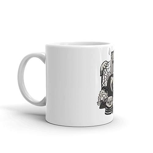 The Addams Family Mug 11 Oz White Ceramic -