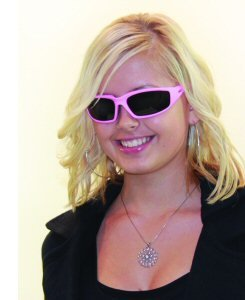 Fight Back Cancer Pink Smoked Motorcycle Glasses - Breast Sunglasses Cancer