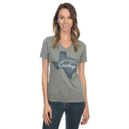 f3286320 Dallas Cowboys Womens Pride Tee