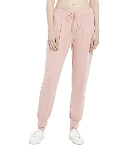 Juicy Couture Black Label Womens Jersey Om Yoga Comfort Jogger Pant  Dusty Rose  M