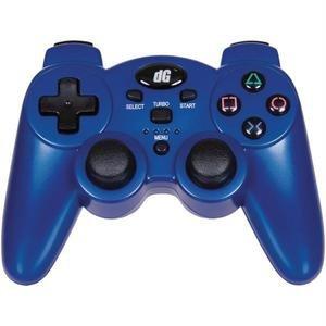 Dreamgear Dgps3-1384 Playstation(tm) 3 Radium Wireless Controller (metallic Blue) (Metallic Blue Ps3 Controller)