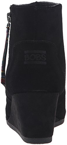 Bobs by Skechers High-Notes-Desert Darlin' Pelle Scarpa con la Zeppa