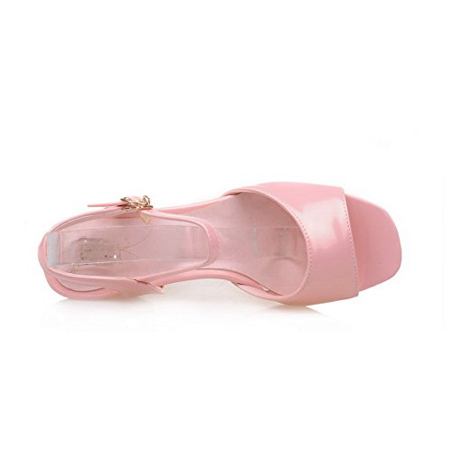 AN Womens Cold Lining Non-Marking Peep-Toe Urethane Sandals DIU00787 Pink qoWkUywvc