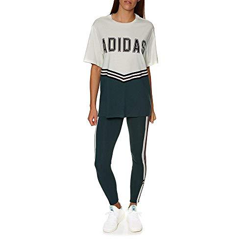 Adidas Mujer Blanco Camiseta Mednoc Tee Adibreak Ss blatiz SICqwSr