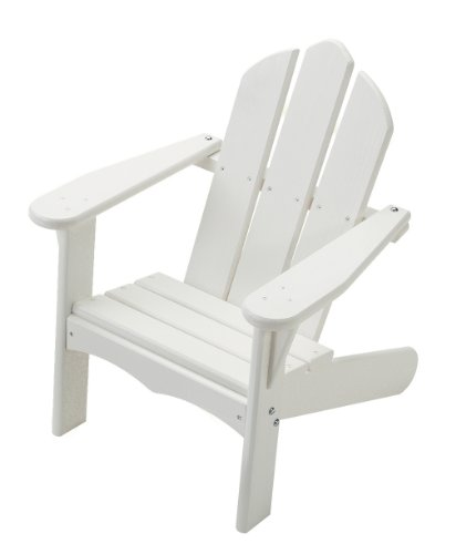 Adirondack End Blue Table (Little Colorado Personalized Child's Adirondack Chair- White)